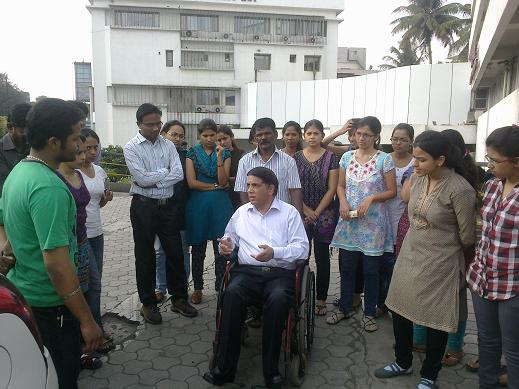 Spinal Cord Injury Rehabilitation workshop organized by Indian