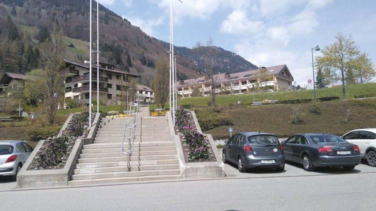 klinic valen- view from main gate Gajanan