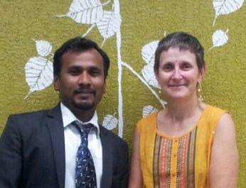 Gajanan Bhalerao & Cathy Hazzard